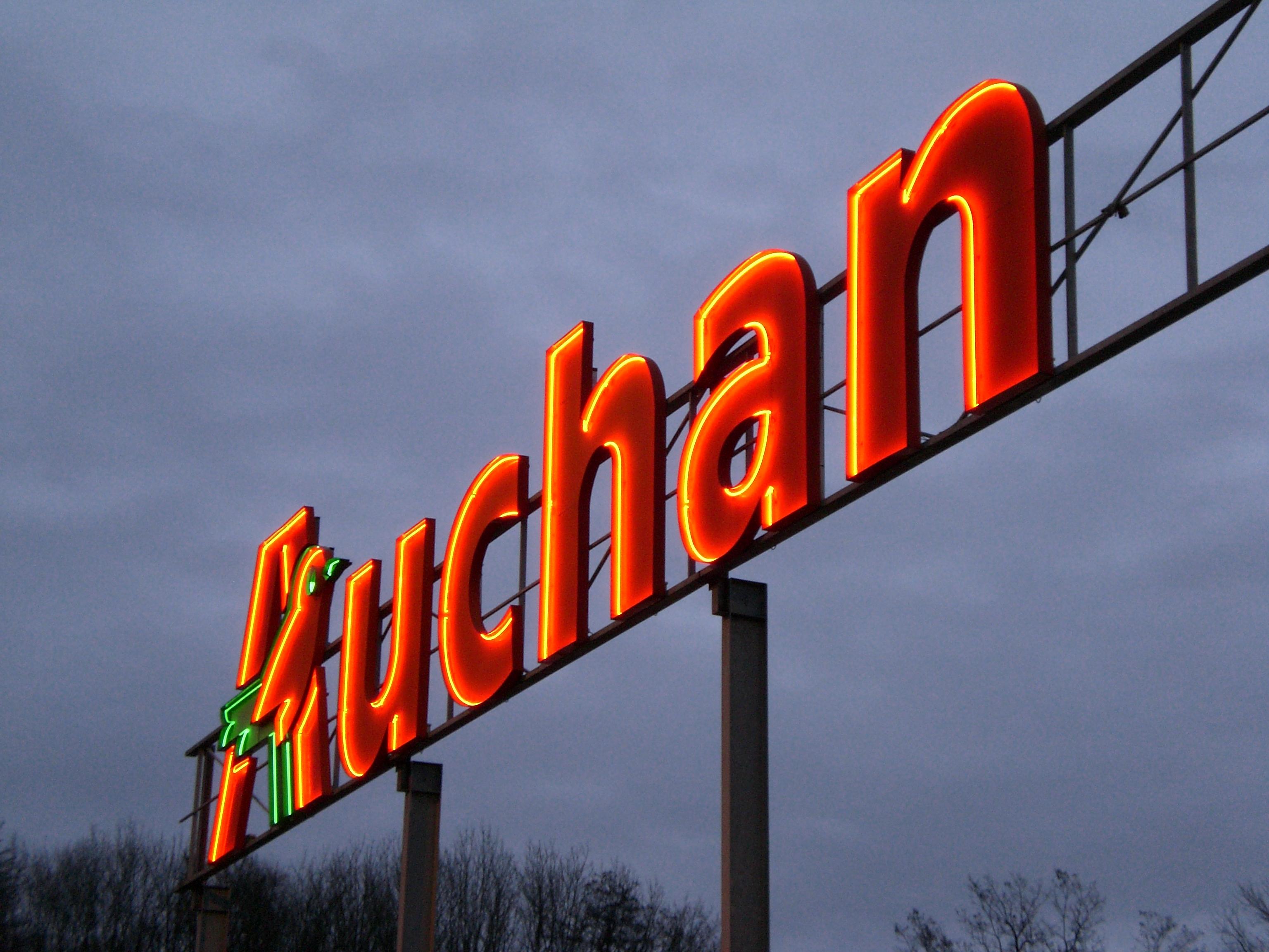 Enseigne Auchan