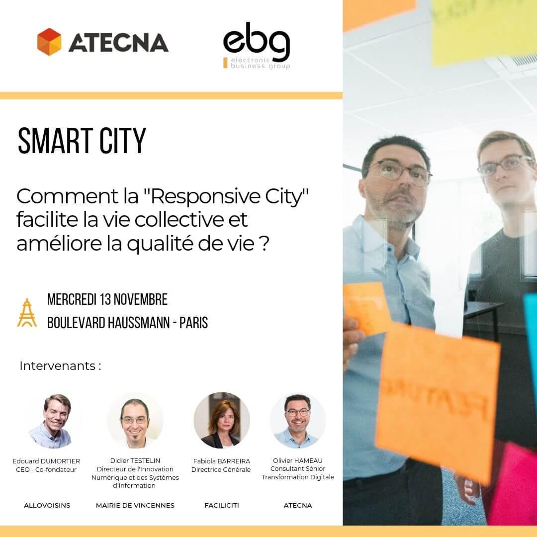 Conférence Smart City Atecna