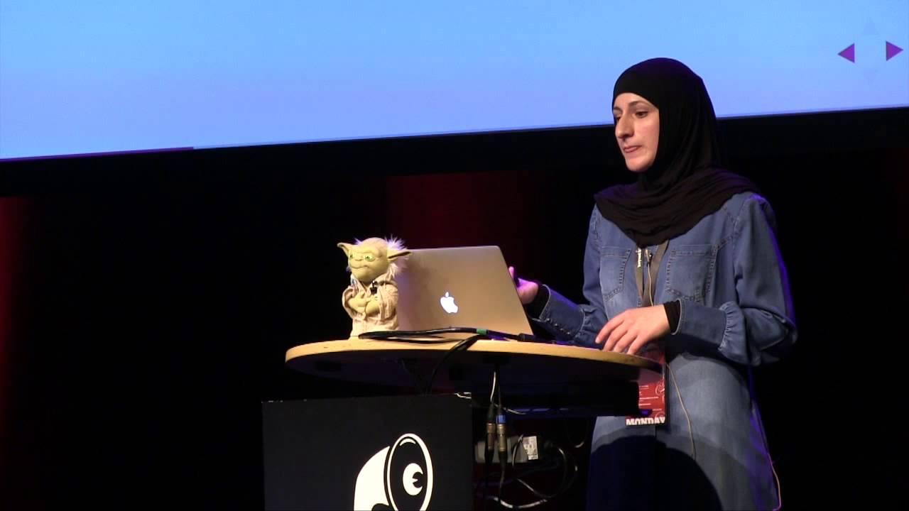 Sara Soueidan lors du Smashing Conference 2020